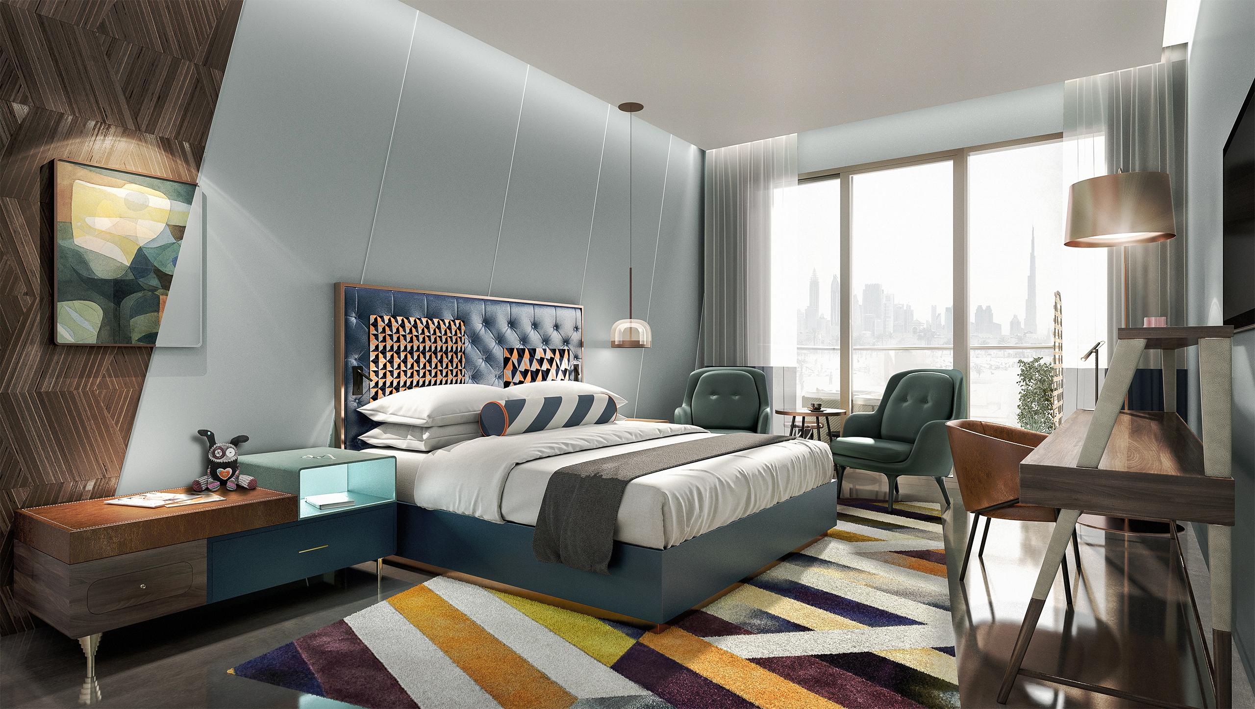 Hotel Andaz in Dubai Rooms