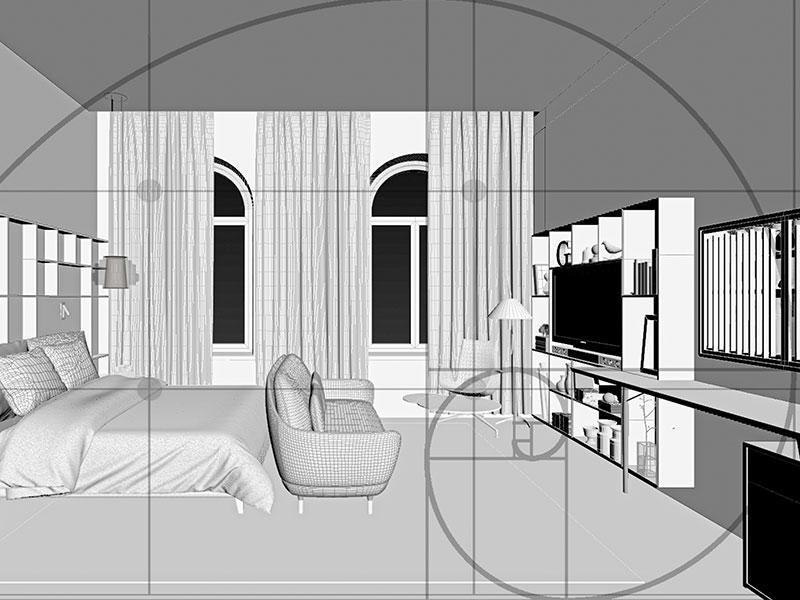infografia 3D conceptual